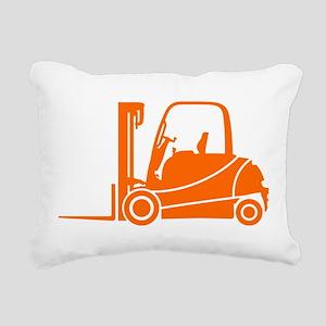 Forklift Truck Rectangular Canvas Pillow