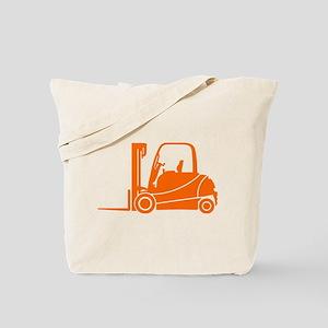 Forklift Truck Tote Bag