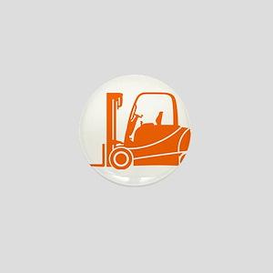 Forklift Truck Mini Button (10 pack)