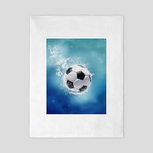 Soccer Water Splash Twin Duvet