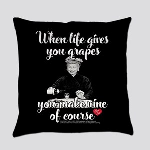 Lucy Make Wine of Course Everyday Pillow