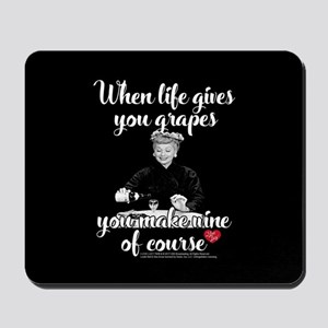 Lucy Make Wine of Course Mousepad