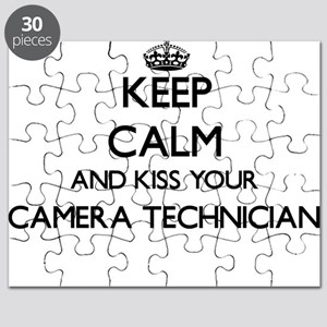 Keep calm and kiss your Camera Technician Puzzle