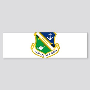 143rd Airlift Wing Bumper Sticker