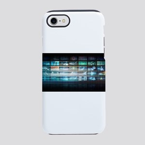 Futuristic Technology with Fut iPhone 7 Tough Case