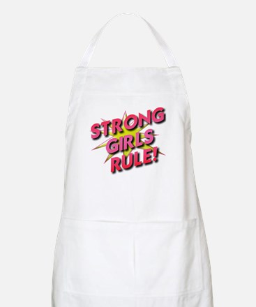 Strong Girls Rule! Apron