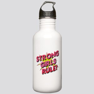 Strong Girls Rule! Stainless Water Bottle 1.0L