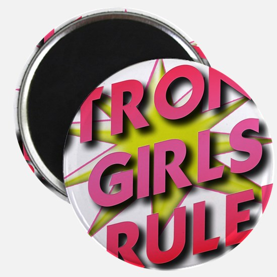 Strong Girls Rule! Magnet