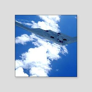"B-2 Spirit in the sky Square Sticker 3"" x 3"""