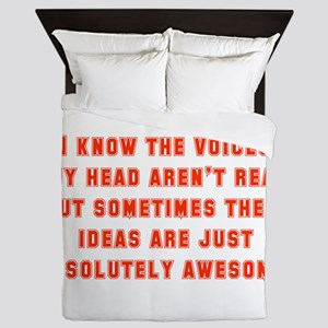 I Know The Voices In My Head Queen Duvet