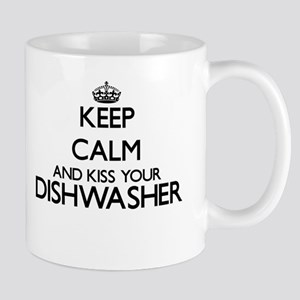 Keep calm and kiss your Dishwasher Mugs