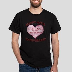 45th. Anniversary Dark T-Shirt