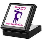 Gymnastics Keepsake Box - Handstand
