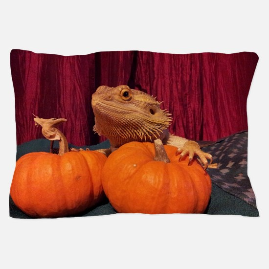 Autumn Beardie Pillow Case