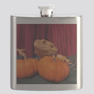 Autumn Beardie Flask