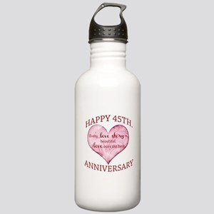 45th. Anniversary Stainless Water Bottle 1.0L