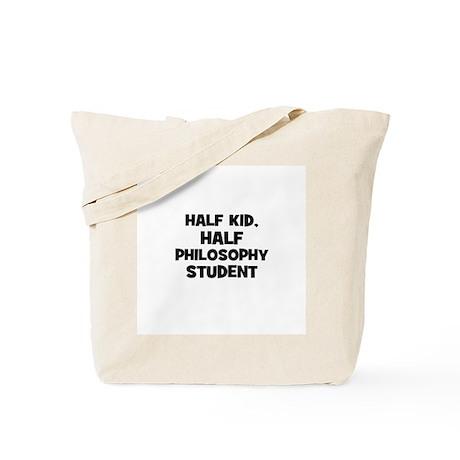 Half Kid, Half Philosophy Stu Tote Bag