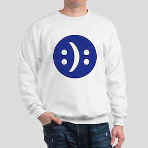 Bipolar face Sweatshirt