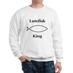 Lutefisk King Sweatshirt