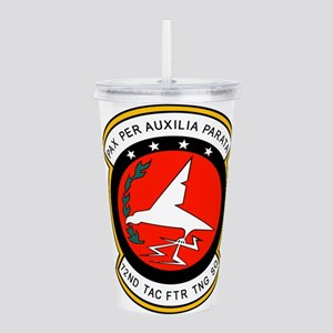 72nd Tactical Fighter Acrylic Double-wall Tumbler