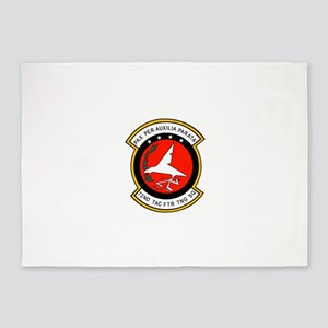 72nd Tactical Fighter Training 5'x7'Area Rug