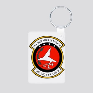 72nd Tactical Fighter Training Keychains