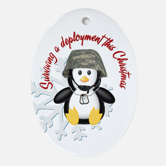 Surviving Deployment this Christmas- Penguin Ornam