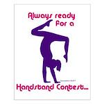 Gymnastics Poster - Handstand