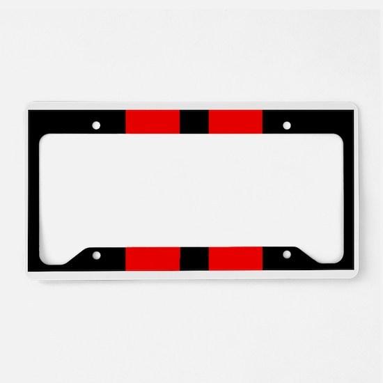challenger racing stripes license plate holder - Dodge License Plate Frame