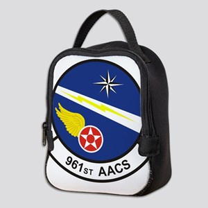 961st AACS Neoprene Lunch Bag