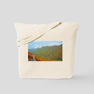 Hiking Through the Glorious Appalachians Tote Bag