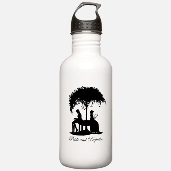 Pride and Prejudice Darcy and Lizzie Water Bottle