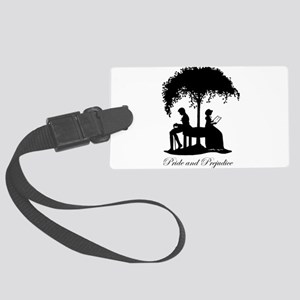 Pride and Prejudice Darcy and Lizzie Luggage Tag