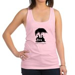 Pride and Prejudice Darcy and Lizzie Racerback Tan