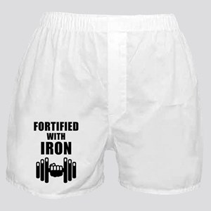 Fortified With Iron Boxer Shorts