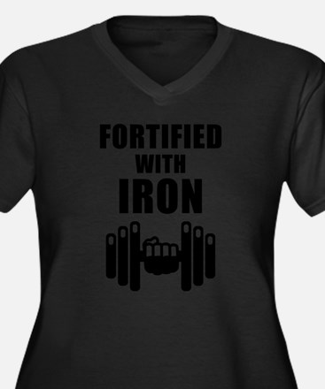 Fortified With Iron Plus Size T-Shirt