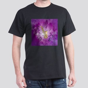 Saxophone with key notes T-Shirt