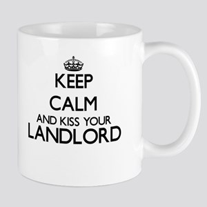 Keep calm and kiss your Landlord Mugs