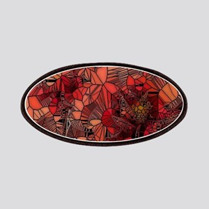 flowers such as stained glass Patches
