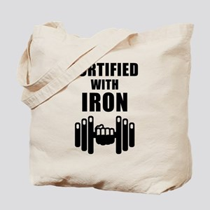 Fortified With Iron Tote Bag