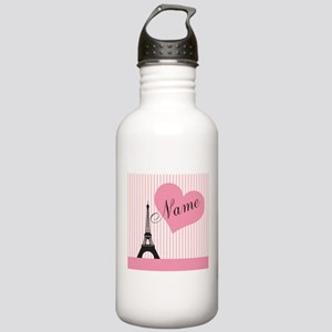custom add text paris Stainless Water Bottle 1.0L