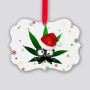 Rasta Sata Card Picture Ornament