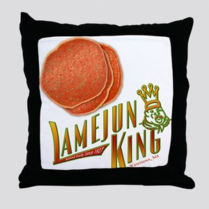 Lamejun King Throw Pillow