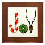 Christmas JOY Framed Tile