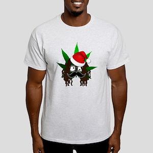 Pothead Rasta Santa T-Shirt