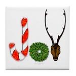 Christmas JOY Tile Coaster
