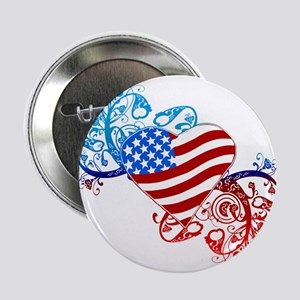 July 4th Heart Scroll Button