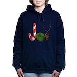 Christmas JOY Women's Hooded Sweatshirt