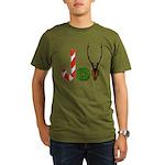 Christmas JOY Organic Men's T-Shirt (dark)