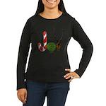Christmas JOY Women's Long Sleeve Dark T-Shirt